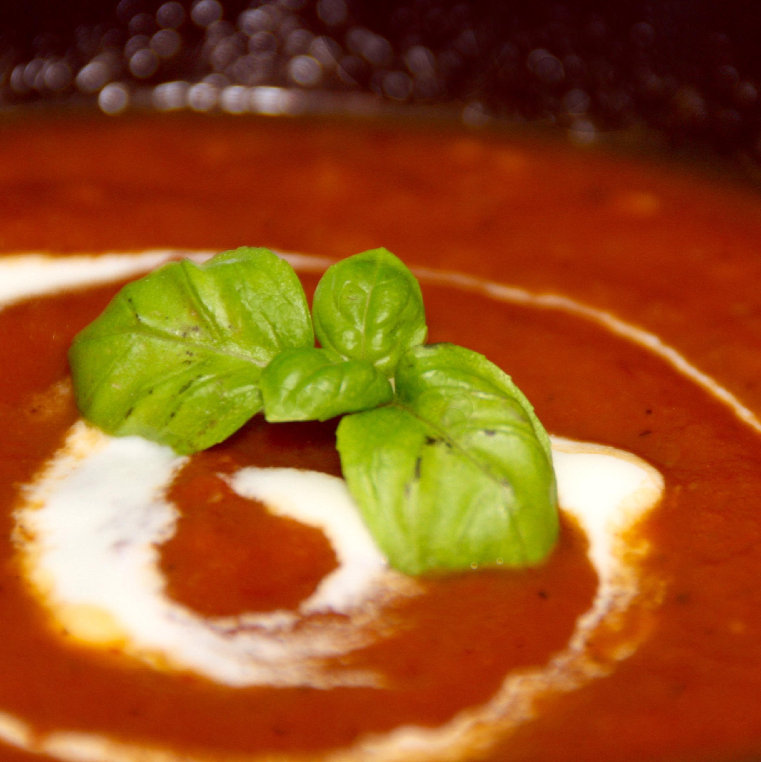Leichte mediterrane Tomatensuppe   Wildes Geschnetzel
